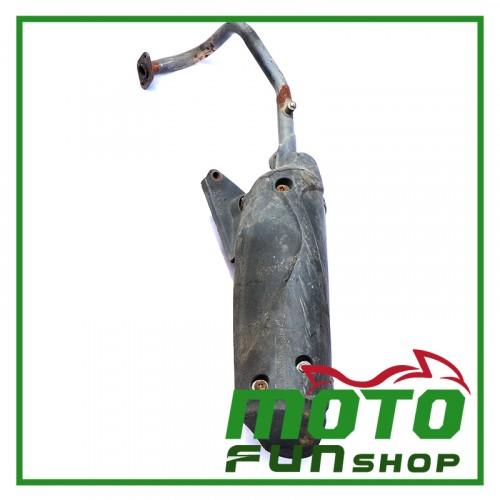 KYMCO 4U 50-排氣管 (1)