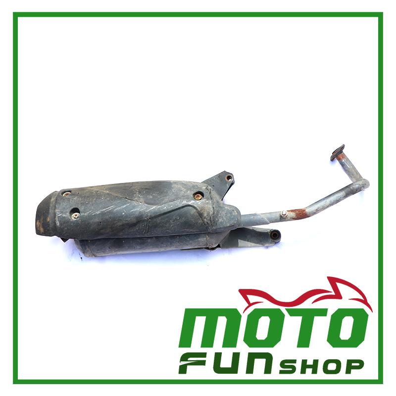 KYMCO 4U 50-排氣管 (4)