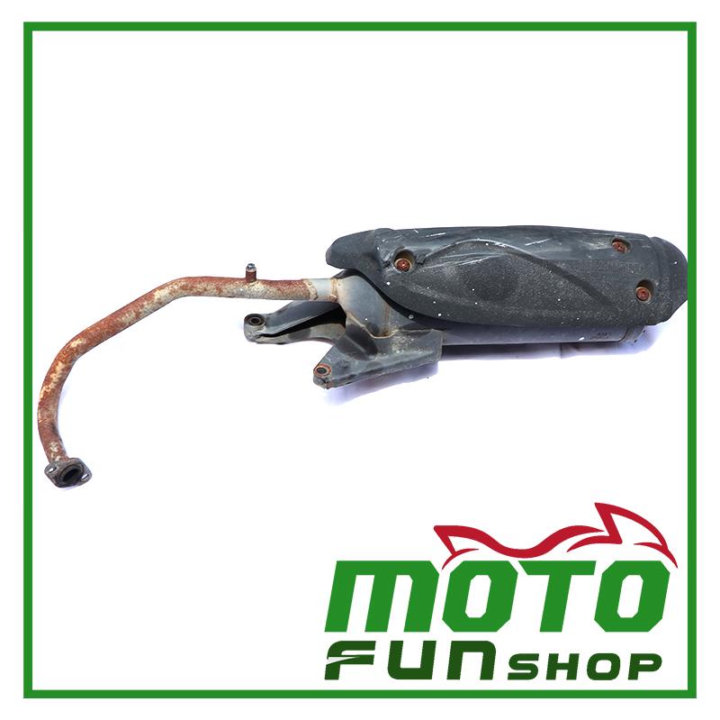 KYMCO KIWI100-排氣管 (2)