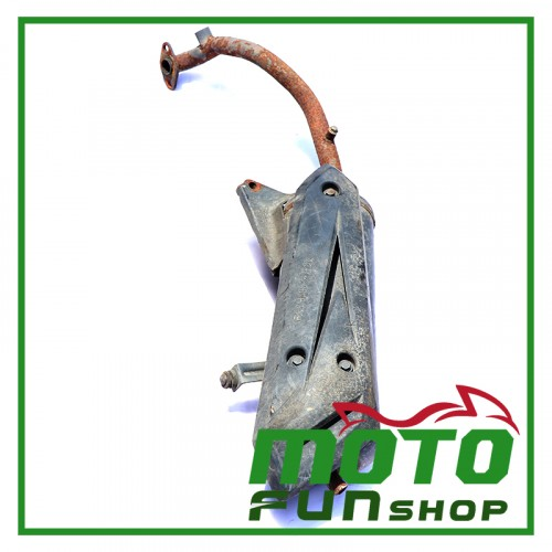 KYMCO V1&V2 100 噴射-排氣管 (1)