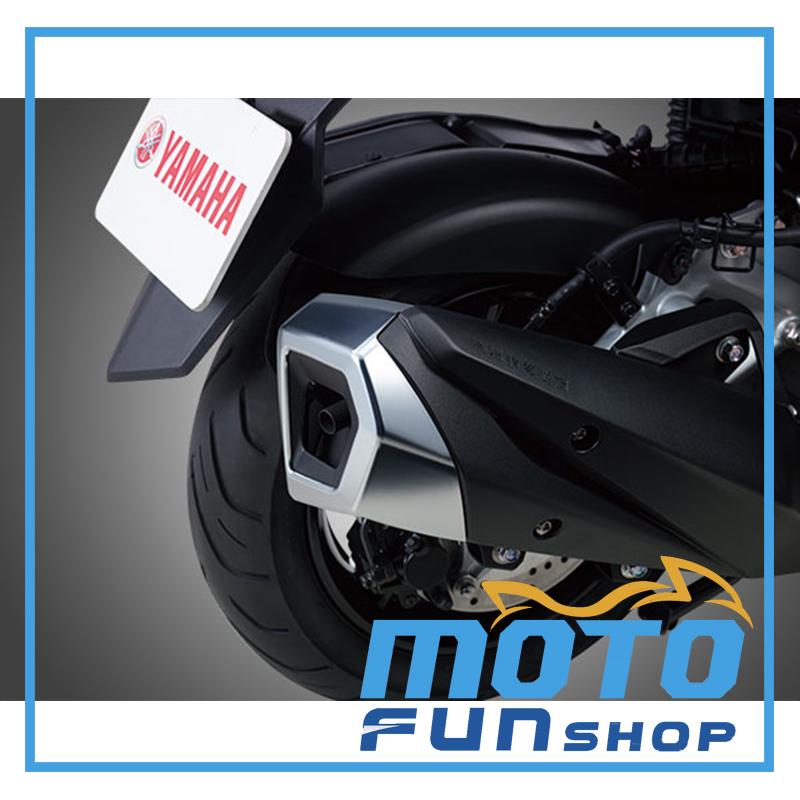 SMAX 排氣管尾蓋 實車照