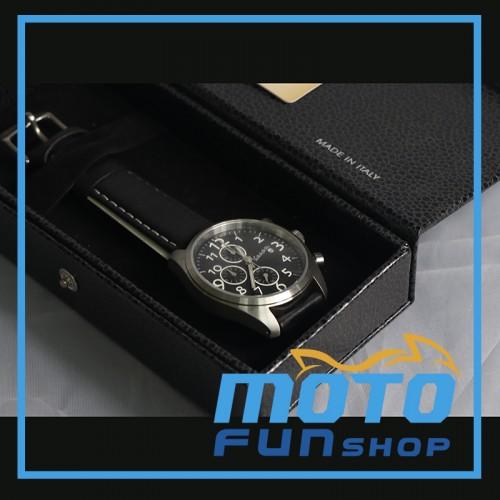 Vespa 時尚三環計時手錶 800_04