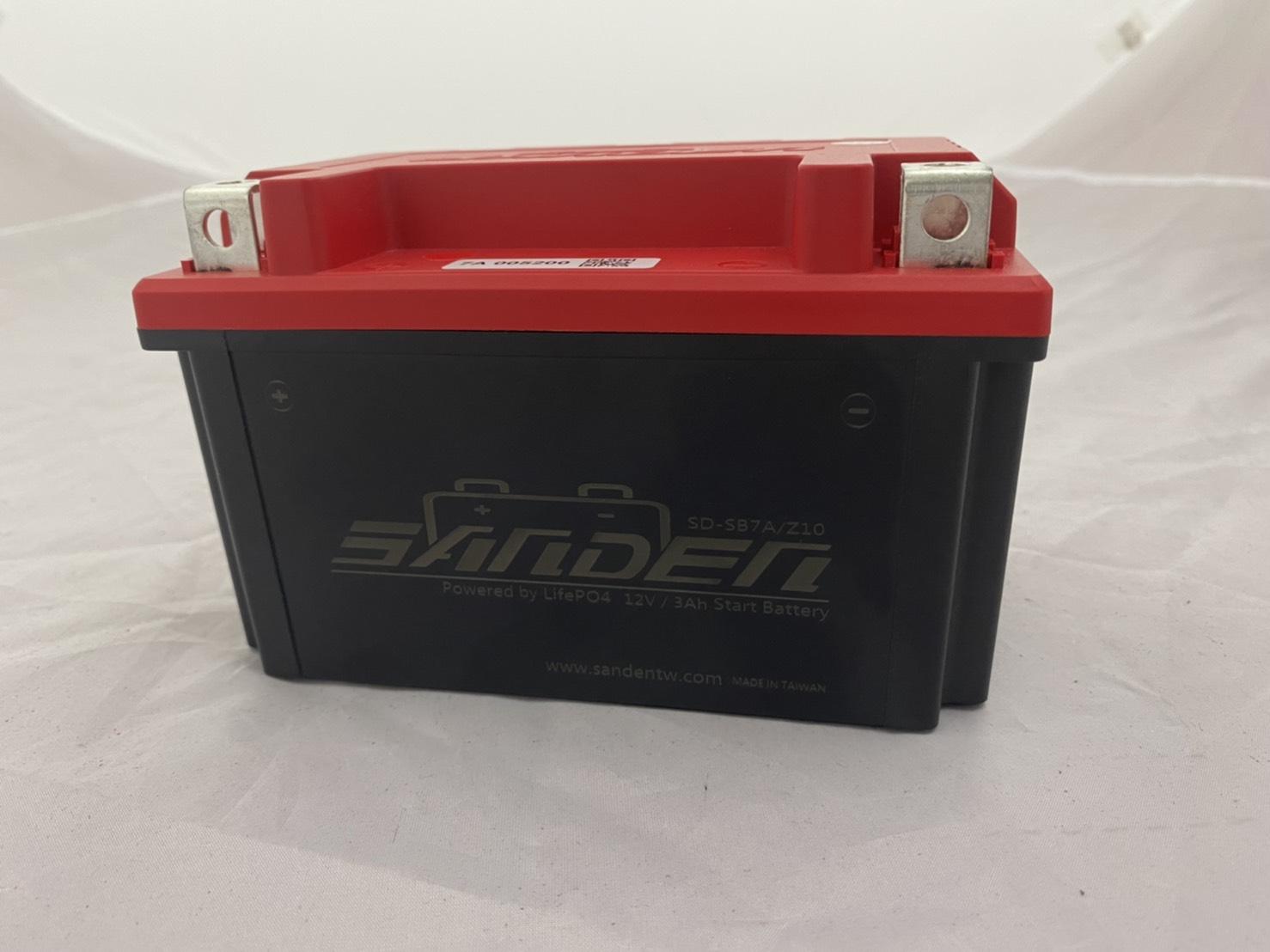 紅色閃電 SD-SB7A 7A 鋰鐵電池